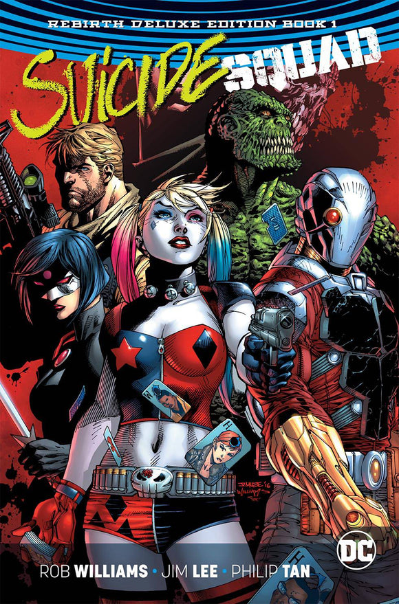 Suicide Squad: Rebirth Deluxe Edition Vol 01 HC