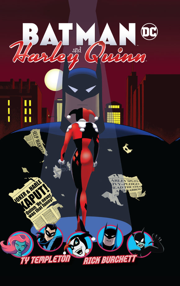 Batman and Harley Quinn HC