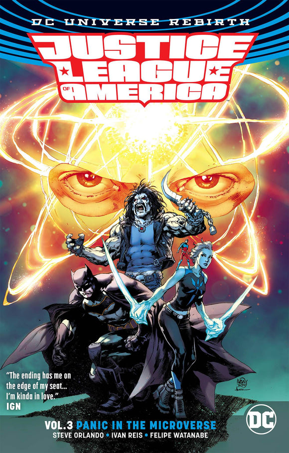 Justice League of America [Rebirth] Vol 03: Panic in the Microverse TPB