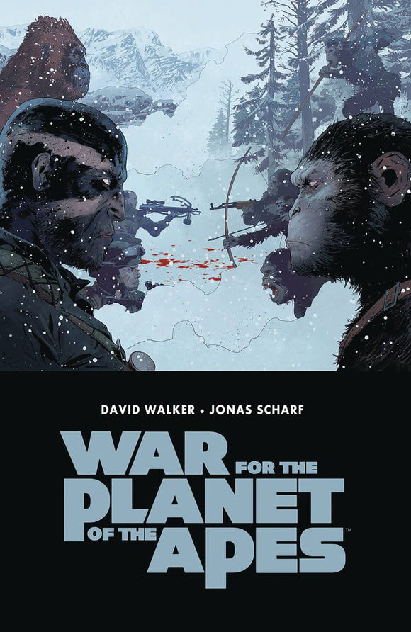 War for the Planet of the Apes TPB