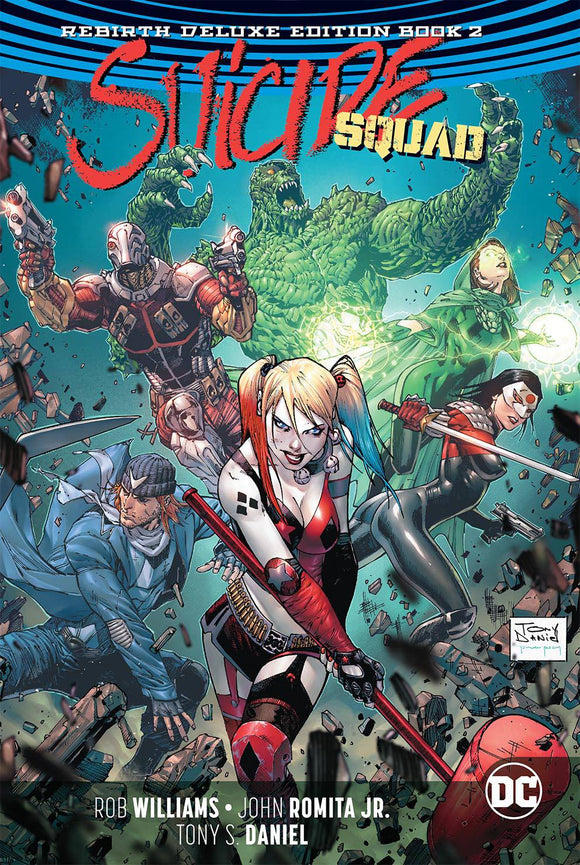Suicide Squad: Rebirth Deluxe Edition Vol 02 HC