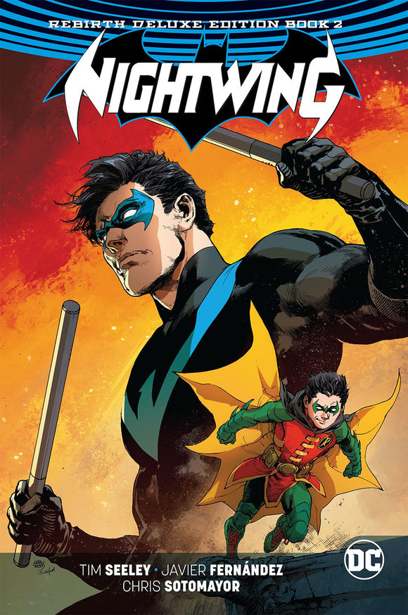 Nightwing: Rebirth Deluxe Edition Vol 02 HC