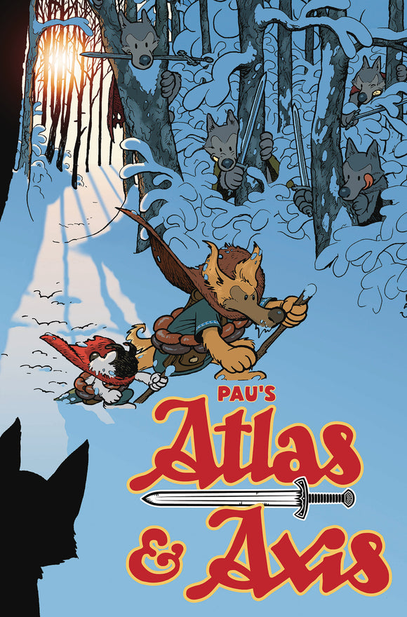 Atlas & Axis Vol 01 TPB