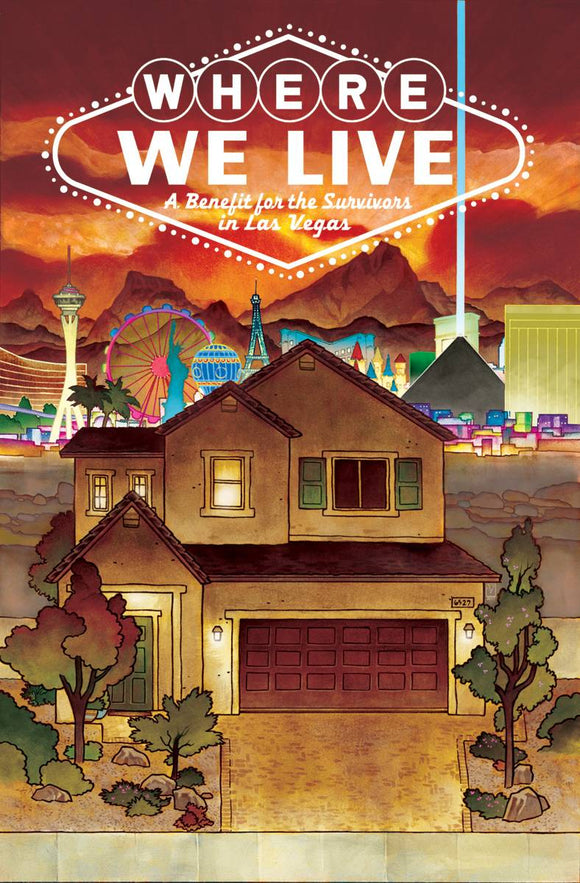 Where We Live: A Benefit for the Survivors in Las Vegas TPB