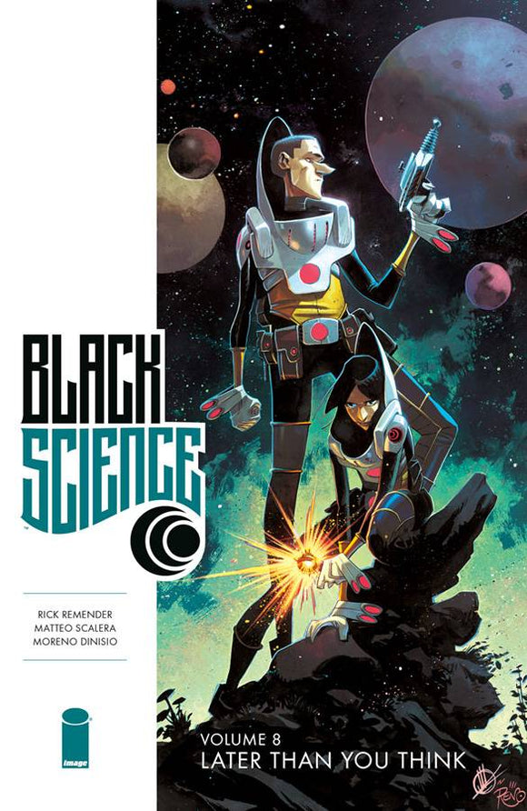Black Science Vol 08: Later Than You Think TPB