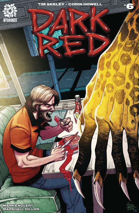 Dark Red (2019) # 6 Corin Howell Variant