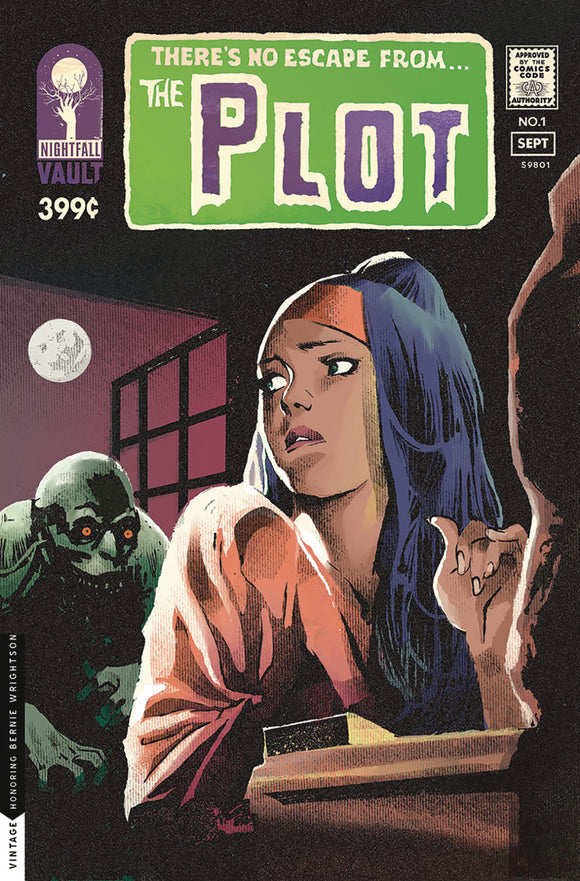Plot (2019) # 1 House of Secrets Homage Variant