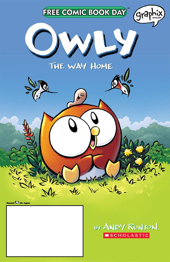 FCBD 2020 Owly: The Way Home