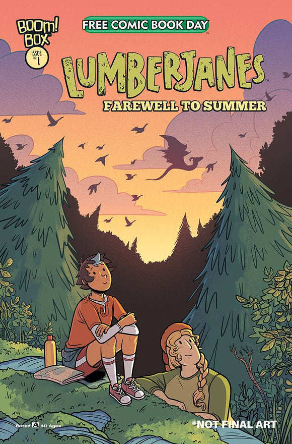 FCBD 2020 Lumberjanes: Farewell to Summer