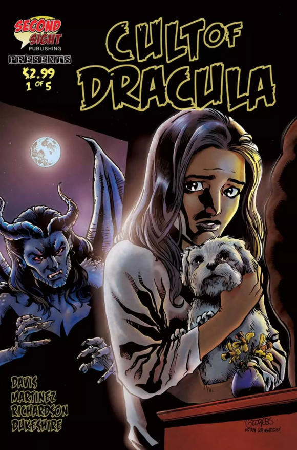 Cult of Dracula (2020) #1 Georges Jeanty House of Secrets Homage Variant