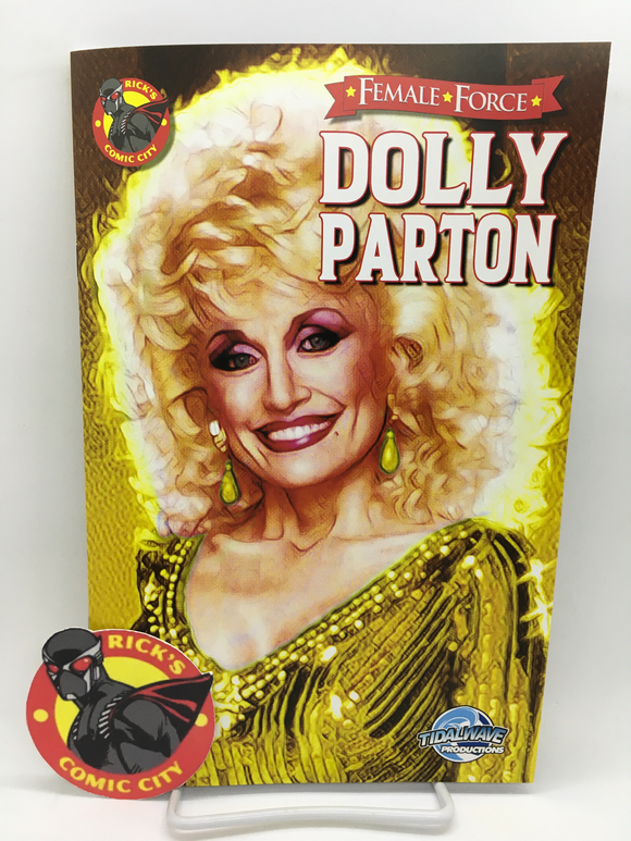 Female Force: Dolly Parton (2021) #1 Rick's Comic City Variant