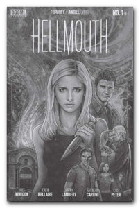 Buffy the Vampire Slayer/Angel: Hellmouth (2019) #1 (of 5) CBLDF B&W Variant