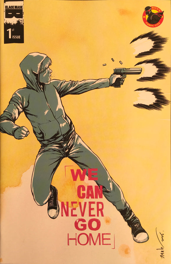 We Can Never Go Home (2015) #1 Rick's Comic City Store Variant