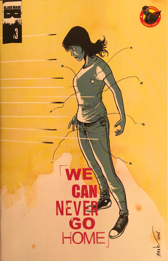 We Can Never Go Home (2015) #3 Rick's Comic City Store Variant