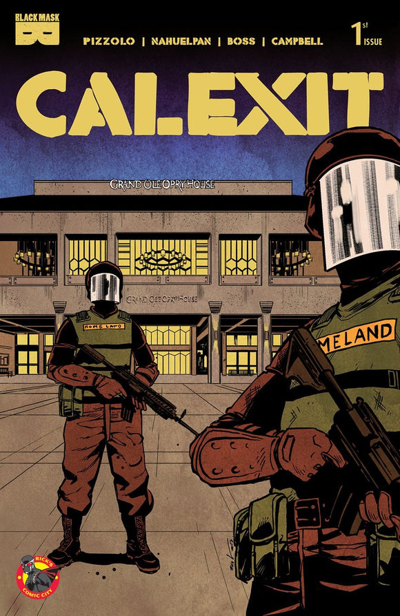 Calexit (2017) # 1 Rick's Comic City Store Variant