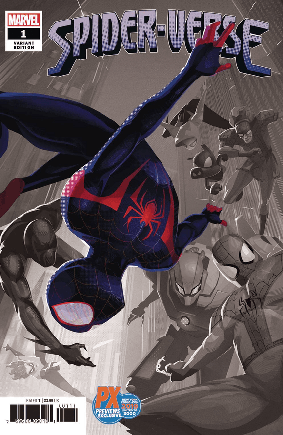 Spider-Verse (2019) #1 (of 6) NYCC Previews PX Exclusive Variant