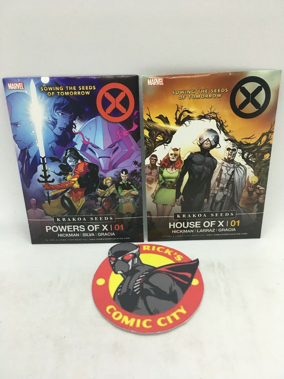 X-Men: House of X/Powers of X Promo Seed Packets