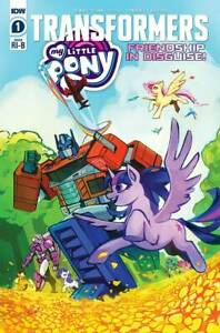 My Little Pony/Transformers (2020) # 1 (of 4) Bethany McGuire-Smith Variant