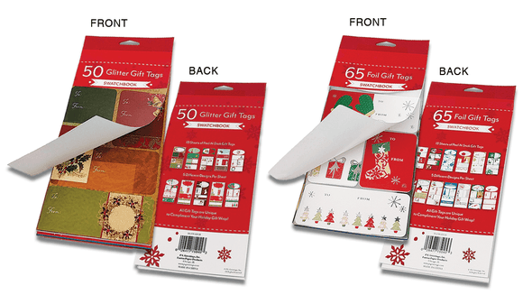 50 & 65 Count Swatchbook Tags