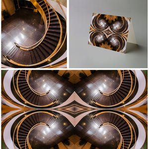 Art Card: The Stairwell Mandala - Rockefeller Center NYC