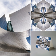 Art Card: The Metallic Mandala One - Walt Disney Concert Hall