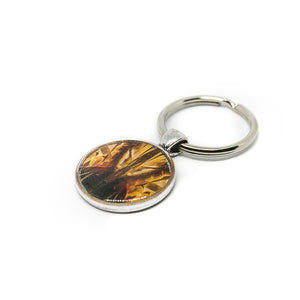 Keychain - Resin Coated - Digital Art - Museum of Pop Culture Seattle - Fire