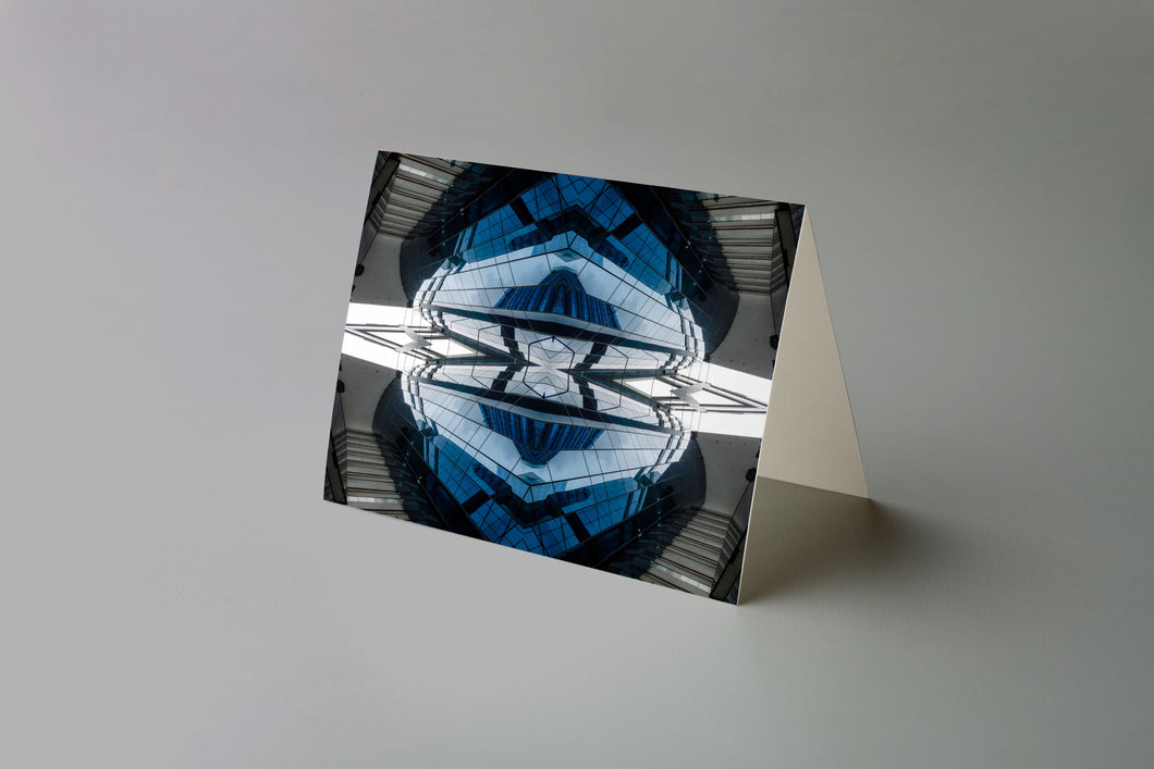 Art Card: The Blue Diamond Mandala