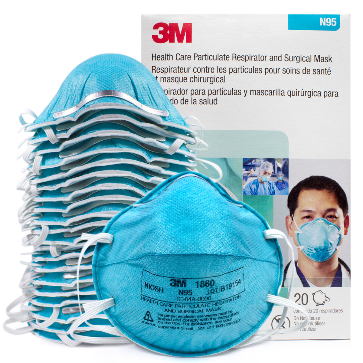 3m n95 mask reusable or not