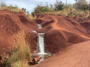 Red Dirt Falls Kauai