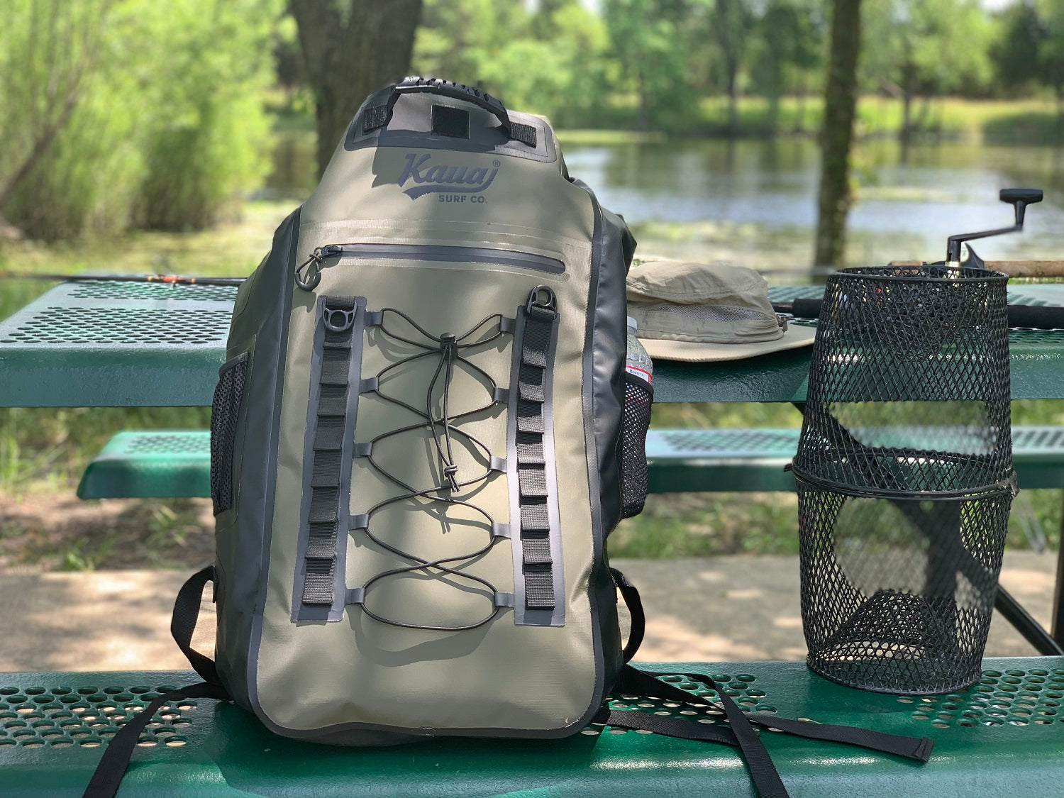 Waterproof Backpack for Fishing