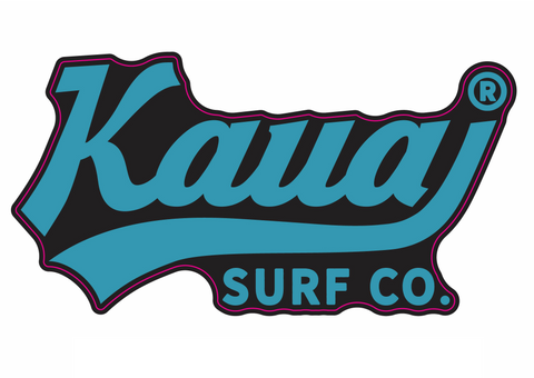 Kauai Surf Co. Sticker