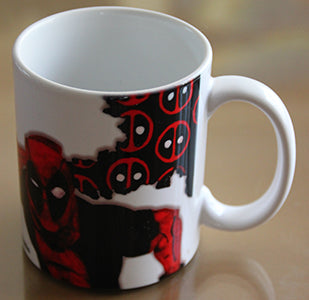 Chizzel'd Designs: Deadpool Mug - LoG-Marketplace