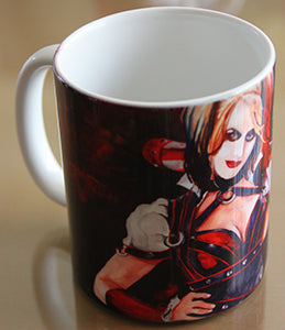 Chizzel'd Designs: Harley Quin Mug - LoG-Marketplace