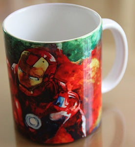 Chizzel'd Designs: Ironman Mug - LoG-Marketplace