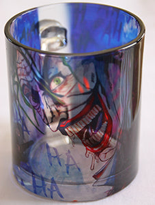 Chizzel'd Designs: Joker Glass Mug - LoG-Marketplace