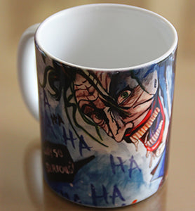 Chizzel'd Designs: Joker Mug - LoG-Marketplace