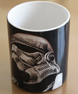 Chizzel'd Designs: Stormtrooper Mug - LoG-Marketplace