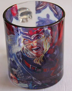 Chizzel'd Designs: Thor Glass Mug - LoG-Marketplace