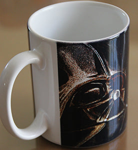 Chizzel'd Designs: Vader Mug - LoG-Marketplace