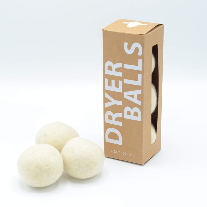 Wool Dryer Balls Made in the USA - Replace Your Dryer Sheets & Fabric Softener