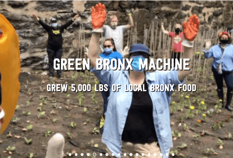 Eco-Friendly Teacher Gift - Green Bronx Machine Donation