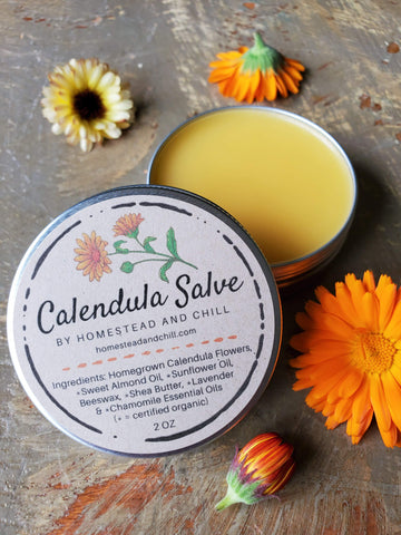 Homestead & Chill Calendula Salve