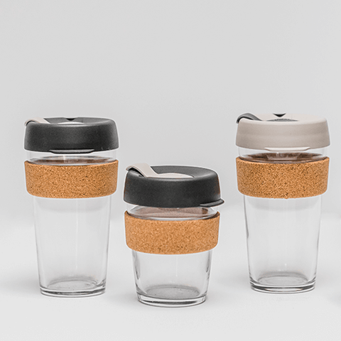 Keep Cup reusable glass coffee cup - to go - Barista Standard