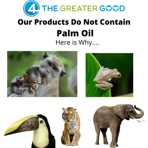 Why is Palm Oil Bad for Environment? Our products don't contain palm oil, here's why.