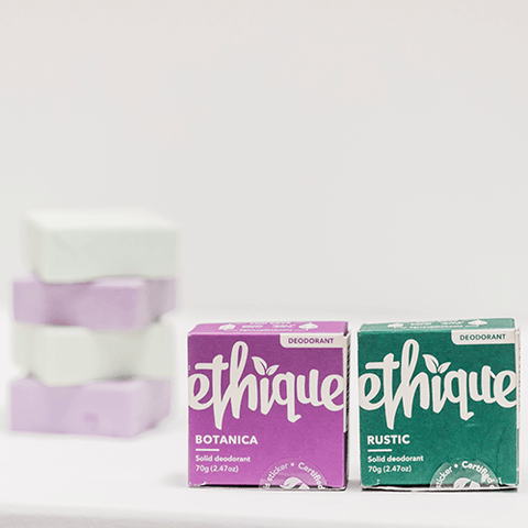 How to transition to natural deodorant - ethique deodorant bars - plastic free