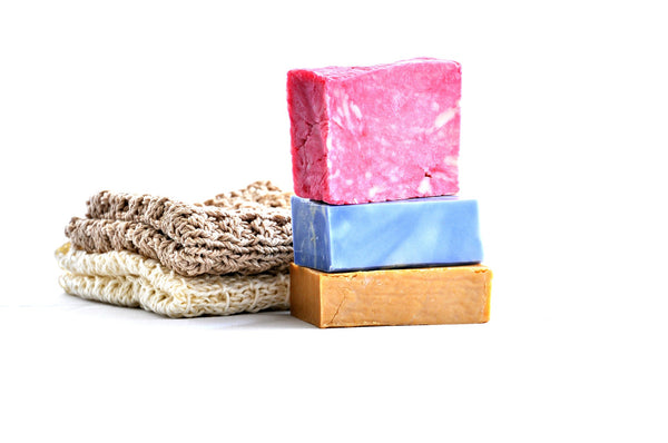 Bar soap is low waste and better for the planet