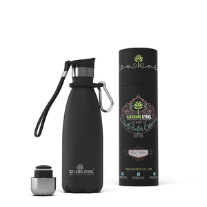 12 oz Greens Steel Stainless water bottle