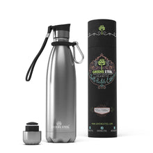 17 oz Greens Steel stainless water bottle