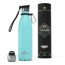 25 oz Greens Steel stainless water bottle