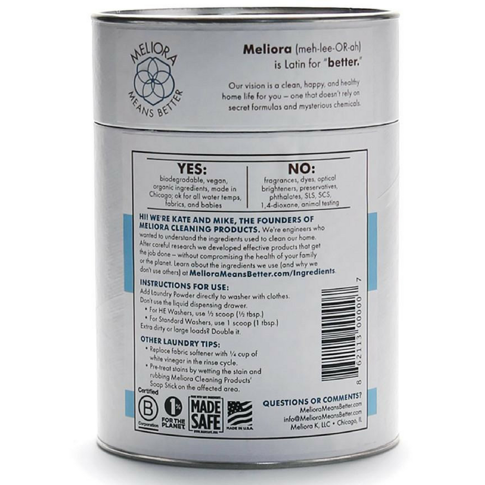All Natural Laundry Powder - Meliora